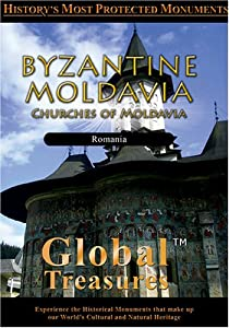Global Treasures BYZANTINE MOLDAVIA Churches of Moldavia Romania [Import]