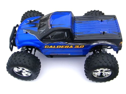 REDCAT RACING CALDERA ~ NEW ~ 3.0 ENGINE ~ 1/10 SCALE RC ~ NITRO ~ MONSTER TRUCK (2 Speed) ~ RED