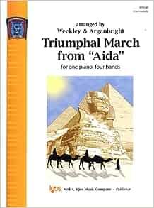 "Triumphal March From ""Aida"": 0084027026168: Amazon.com: Books"