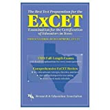 img - for ExCET -- The Best Test Prep: for the Examination for the Certification of Educators in Texas (Test Preps) by William H. Barber (1998-01-01) book / textbook / text book