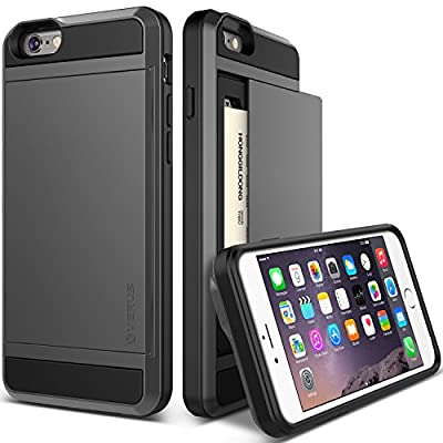 """iPhone 6 Plus Case, Verus [Card Slot Case] iPhone 6 Plus 5.5"""" Case [Damda Slide Series] Dual Layer Protective Card Case - Verizon, AT&T, Sprint, T-Mobile, International, and Unlocked - Case for Apple iPhone 6 5.5 Inch Late 2014 Model by Verus"""