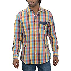 Inego Men's Casual Shirt (Majantha )