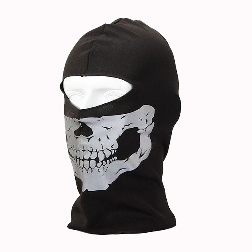 Buy C&S Protective Seal Skull Mask Ghost Hood Call of Duty Online ...