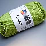 Schachenmayr Catania, 205 apfel-grün, 50g Knäuel, 100% Baumwolle, stricken