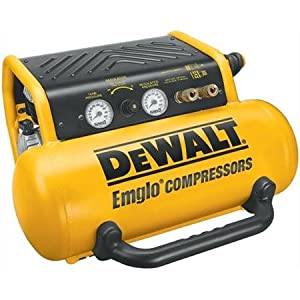 DEWALT D55155 15 Amp 2-3/4-Horsepower 4-Gallon Oiled Single Hot Dog Compressor