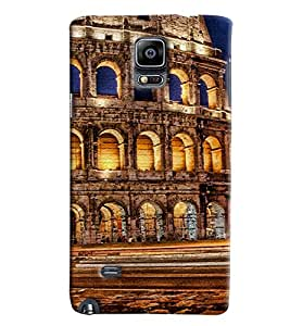 Clarks Printed Designer Back Cover For Samsung Galaxy Note 4