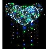 1pcs 5pcs 10pcs Led Bobo Balloon Lights Reusable Lamps Decorations for Festival Birthday Party Luminous 18 inch String Lights (10pcs) (Color: Multicolore, Tamaño: 10pcs)