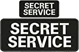 """Description The patch has the word """"secret service """" on it. It is new barely made here in the US by me. The size is 4 inches by 10 and 2.x5 inches. The back is hook. thank you for shopping."""