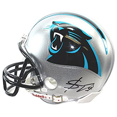 Shaq Thompson Autographed Carolina Panthers Mini Helmet - Certified Authentic