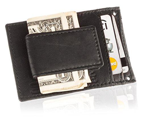 suvelle-mens-leather-wallet-magnetic-money-clip-detachable-neck-strap-w019