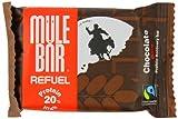 Barra Recuperación Mulebar Refuel Chocolate Dátil Una barra ReFuel hiperpoteinada para ayudarte en el proceso de regeneración después del esfuerzo. El sabor maravilloso de los dátiles, de las almendras y del chocolate convierten esta barrita ...