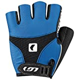 Louis Garneau Men's 12C Air Gel Cycling Gloves, Royal, Large