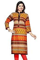 Le Moda Ladies Pakistani Style A line Kurti Formal Office Ethnic Fancy Daily Wear Kurta