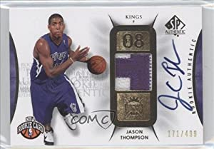 Jason Thompson JSY AU 499 RC (Rookie Card) #171 499 Sacramento Kings (Basketball... by SP Authentic