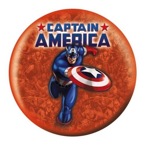 Amazon.com : Captain America Bowling Ball (10lbs) : Sports & Outdoors