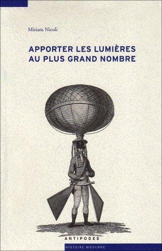 Apporter les lumières au plus grand nombre : Médecine et physique dans le Journal de Lausanne (1786-1792)