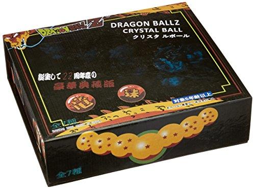 OrangeTag Crystal Dragon Balls, Pack of 7, Transparent