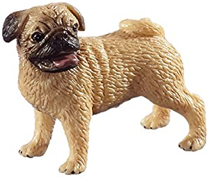 Schleich Male Pug Toy Figure
