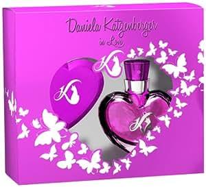 Daniela Katzenberger in Love Geschenkpackung EdT 30 ml plus Taschenspiegel, 1er Pack (1 x 30 ml)