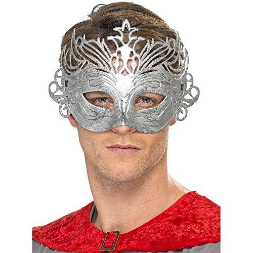 Columbine Silver Venetian Mask - 1
