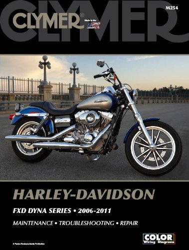 2006-2011 Harley FXD Dyna Series Clymer Repair Manual