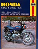 Haynes Manual for Honda CB400 & CB550 Fours (73 - 7