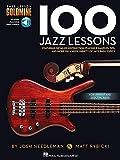 Bass Lesson Goldmine: 100 Jazz Lessons (Book/Online Audio)