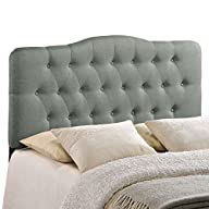 LexMod Annabel Fabric Headboard, Full…