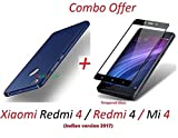 #8: YuniKase Mi redmi 4 / Xiaomi Redmi 4 / Redmi 4 / Mi 4 / Redmi4 / Mi4 (COMBO OFFER) All Sides Protection