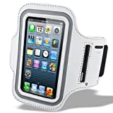 White Armband Case for Apple iPhone 5 5S Running Band iPhone 5 4