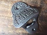 10 x STELLA ARTOIS Cast Iron Bottle Opener wall mounted antique style