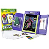 Crayola 04-5165 Table Top Easel 3-in-1 Storage Case with Marker Pens and Crayons