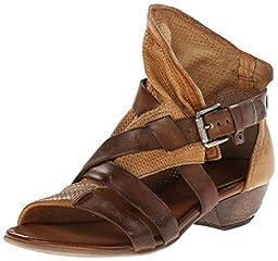 Miz Mooz Women\'s Cassidy Dress Sandal, Whiskey, 38 EU/7.5 M US