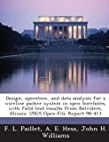 Design, operation, and data analysis for a wireline packer system in open boreholes, with field-test results from Belvidere, Illinois: USGS Open-File Report 98-413 (1288923392) by Paillet, F. L.