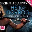 Heir of Novron (       UNABRIDGED) by Michael J. Sullivan Narrated by Tim Gerard Reynolds