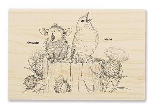 Stampendous Sing a Song Rubber Stamp