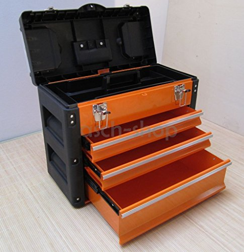 METALL-Werkzeugkasten-Werkzeugkiste-Werkzeugkoffer-Werkzeugbox-Type-7x-3061BC-von-AS-S
