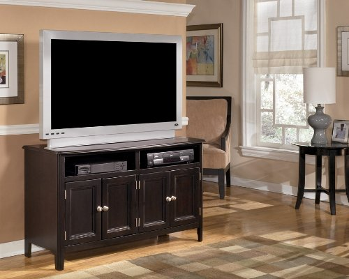 Cheap Almost Black Contemporary Carlyle Medium TV Stand (W371-28)
