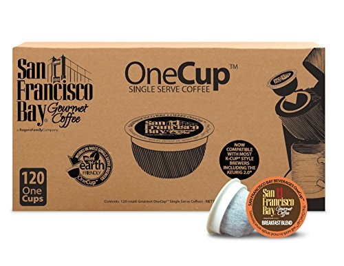 San Francisco Bay OneCup, Breakfast Blend, 120 Single Serve Coffees (San Francisco Bay Keurig Coffee compare prices)