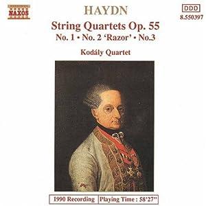 Qrt String Op 55 Nos. 1-3