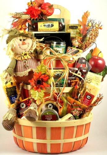 Fall Harvest Gift Basket for Fall & Thanksgiving