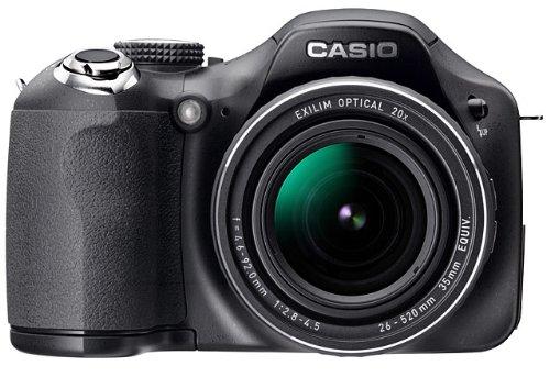 CASIO デジタルカメラ HIGH SPEED EXILIM EX-FH20 900万画素 光学20倍ズーム 超高速連写 EX-FH20BK
