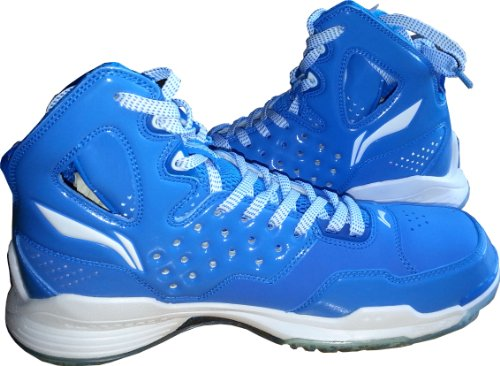 Men's Li-Ning Hightop Blue/White Flex Basketball Shoes Size 9.5 рыболовный жилет fisherman nova tour профи l хаки 95437 530 l