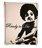 """Bioworld Adult Notorious BIG """"Ready To Die"""" Black and White Bifold Wallet"""