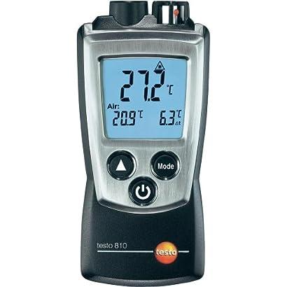 Testo 0560 0810 810 2 Kanal Temperatur Messgerat Mit Infrarot