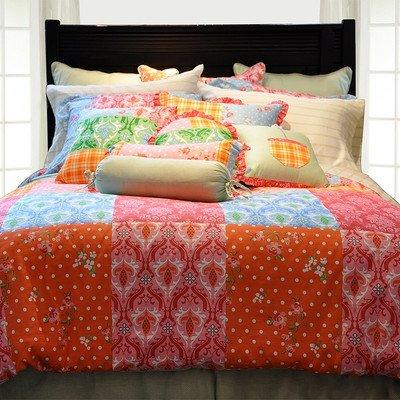 Pointehaven 6-Piece 100-Percent Cotton Luxury Bedding Ensemble, Clarissa, Twin