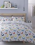 Catherine Lansfield Skandi Birds Quiltset - Double