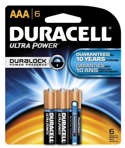 Duracell Mx2400B6Z10 Ultra Advanced Alkaline-Manganese Dioxide Battery Regular Pack, Aaa Size, 1.5V (Case Of 40 Cards, 6 Unit Per Card)