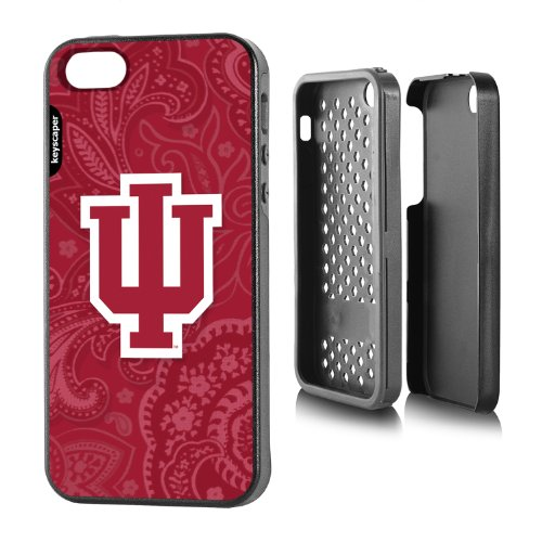 Indiana Hoosiers Iphone 5/5S Rugged Case Paisley Ncaa