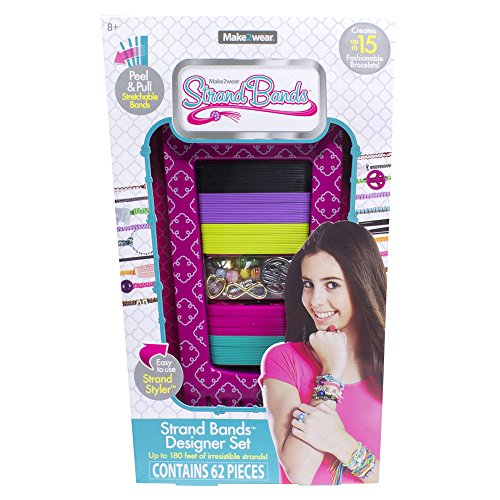 "The Bridge Direct Strand Bands Designer ""Strand Styler"" Cotton Candy Pink Toy"